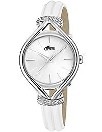 d5362283d0a6 Lotus Reloj Analógico para Mujer de Cuarzo con Correa en Cuero 18399 1
