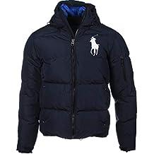 Ralph Lauren Veste en Duvet Big Pony Logo Bleu Marine ou Bleu 1e84777d3910