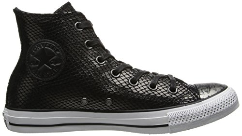 Converse Chuck Taylor All Star Core Lea Hi, Baskets mode mixte adulte Noir