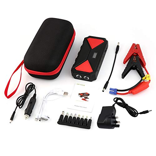 0mAh Best Car Jump Starter High Power tragbare Auto-Ladegerät Multifunktions-Start-Jumper Notauto Battery Booster ()