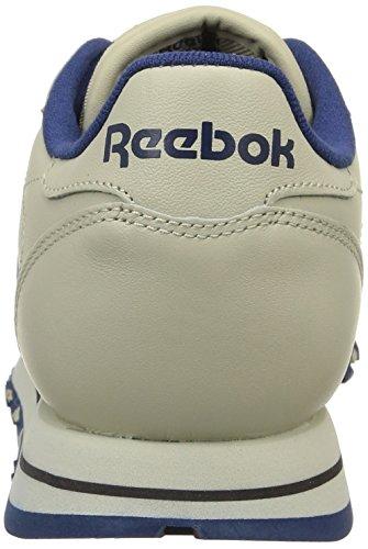 Reebok  CL LTHR, chaussures de sport femme 28413_37 EU_Ecru/Nav