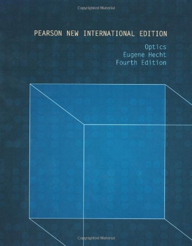 Optics: Pearson New International Edition