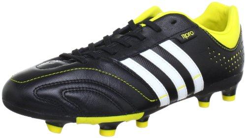 adidas Performance 11Nova Trx FG, Scarpe da Calcio Uomo, Nero (Black 1 / Running White Ftw / Vivid Yellow S13), 44 2/3 EU