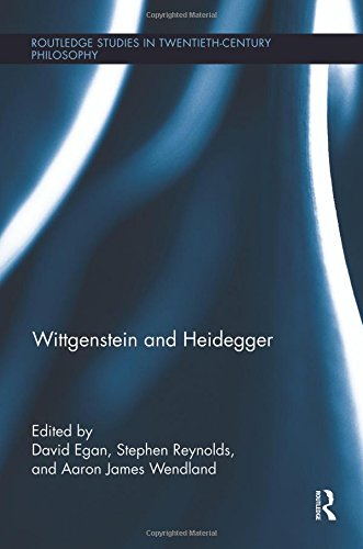 Wittgenstein and Heidegger (Routledge Studies in Twentieth-century Philosophy)