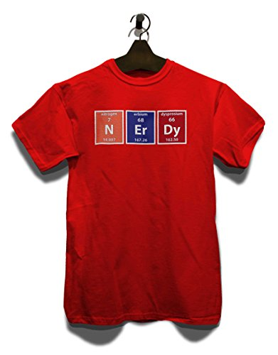Nerdy Elements T-Shirt Rot