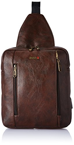 48% OFF on Spykar Synthetic 26 cms Brown Messenger Bag (SPY ... 1868c849506af