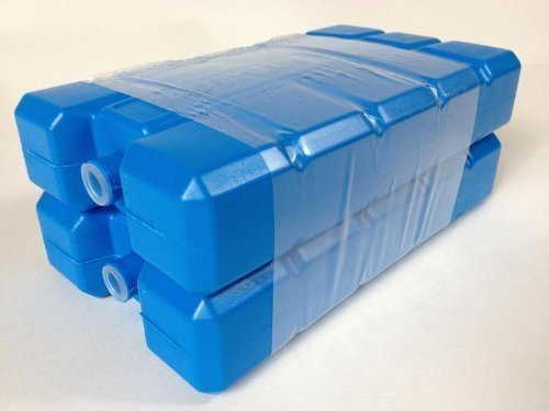 2 x 200 ml 400 ml Kühlakku Kühl Akkus Kühlelement für Kühlbox Kühltasche (400 ml)