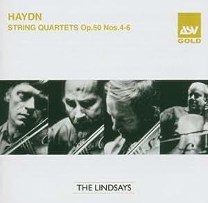 Streichquartette Op.50/4-6