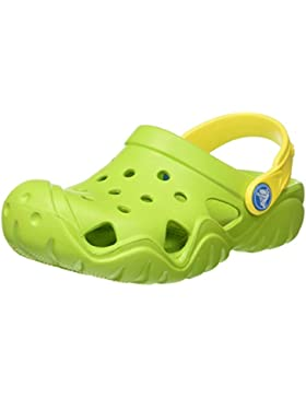 crocs Unisex-Kinder Swiftwaterclgk Clogs