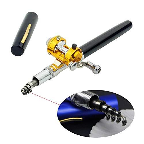 LLDHWX Mini Canne à pêche, Accessoires de pêche et...
