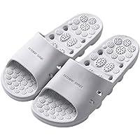 Healifty Zapatillas de Ducha Baño de Secado Rápido para Hombres Mujeres 40-41 (Gris)