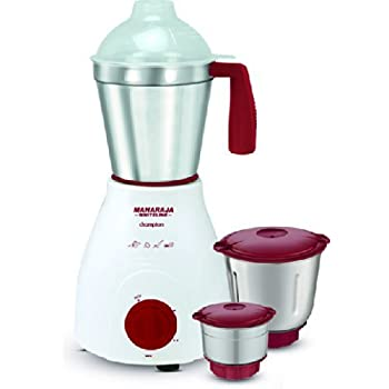 Maharaja Whiteline Champion Happiness MX-121 500-Watt Mixer Grinder (Red/White)