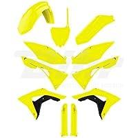 POLISPORT - 93272/54 : Kit de plastica completo amarillo fluor 90742 BETA RR 250
