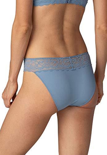 Mey Dessous Serie Amorous Damen Mini-Slips Blau 42 - 2