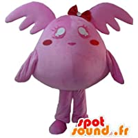 Pokémon mascota SpotSound de color rosa, el gigante de peluche de color rosa