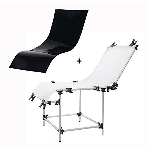 PMS Photo Studio ripresa da tavolo 60x130cm Fotografico tabella traslucido e non riflettente Still Life Video