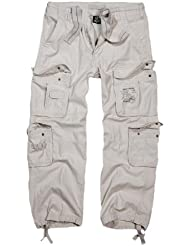 Brandit - Pure Vintage Trouser Old White Weiß Cargohose Outdoor Army Armeehose Bestseller Hose