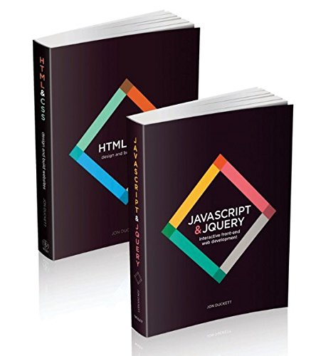 Web Design with HTML, CSS, JavaScript and jQuery Set