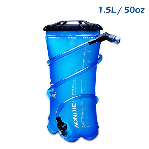 Bolsas de agua RANIACO Bolsa de Agua Deportiva para Usos en Espacios Exteriores Acampada y senderismo Bolsa de Agua Portátil de 2 Litro