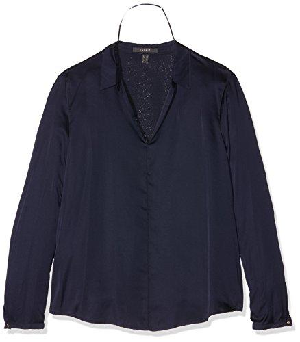 ESPRIT 106eo1f013, Camicia Donna, Blu (Navy), 42