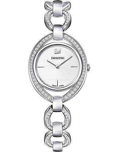 Swarovski Damen-Uhren Analog Quarz One Size Edelstahl 87434681