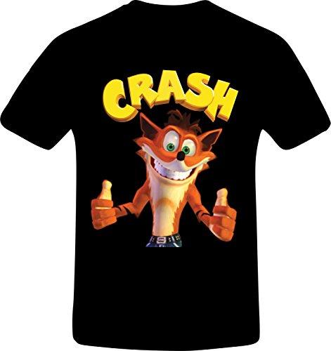 Crash Bandicoot, Best Quality Costum Tshirt X-Large
