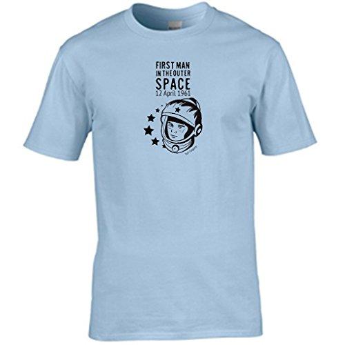 S Tees Herren T-Shirt Blau