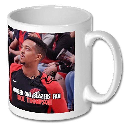 Star Prints UK C. J. McCollum - Portland Trail Blazers - NBA 1 Personalised Gift Mug Coffee Tea Drink Cup Autograph Print (with Personalised Message)