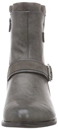 Rieker - 92674, Stivali Donna Grigio (Grau (fumo/graphit / 45))