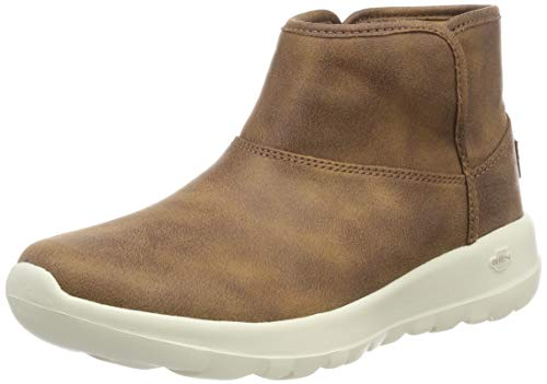 Skechers Damen On-The-go - Harvest Kurzschaft Stiefel, Braun (Chesnut Csnt), 39.5 EU