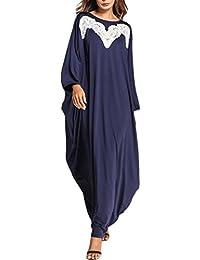 Zhhlinyuan Haute Qualité Loose Dresses Musulmans Longue Robes Aux Femmes  Cocktail Fête Robes Moyen-Orient 6cfef80e6f6