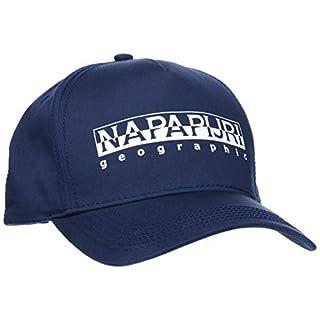 Napapijri Herren Baskenmütze FRAMING, Gr. One Size (Herstellergröße: D), Blau (Blu Marine 176)