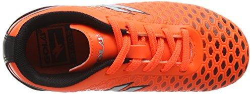 Gola Ion Vx, Scarpe da Calcio Bambino Arancione (Orange/Silver)