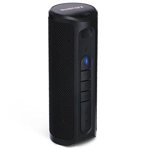 Parlante-Bluetooth-ZENBRE-Z4-Parlante-Estreo-Inalmbrico-Resistente-al-agua-IPX4-con-potentes-graves-incluidos-con-Dual-Driver-2x5W-con-Bluetooth-41-y-hasta-18-horas-de-reproduccinNegro