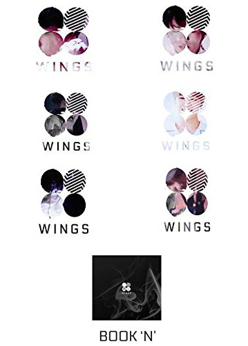 Price comparison product image [ N Ver. ] BTS WINGS Vol. 2 Album BANGTAN BOYS Music CD + Poster + Gift (4 Photocards Set)