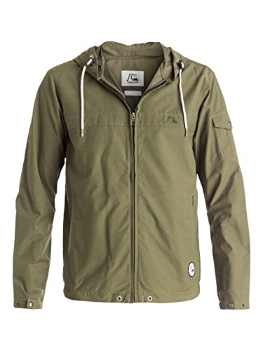 quiksilver-giacca-uomo-shoreline-verde-dusty-olive-m