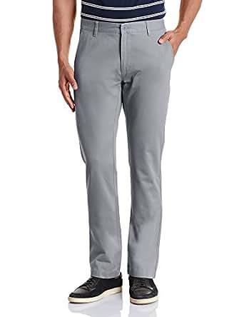 Ruggers Men's Casual Trousers (8907542193714_268435697_40W x 33L_Grey)