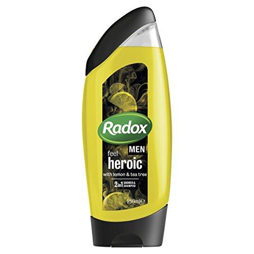 Radox Men Lemon And Tea Tree Showergel
