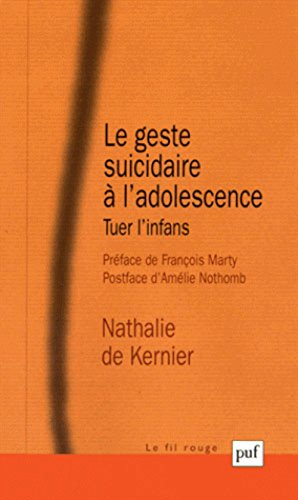 Le geste suicidaire à l'adolescence : tuer l'infans