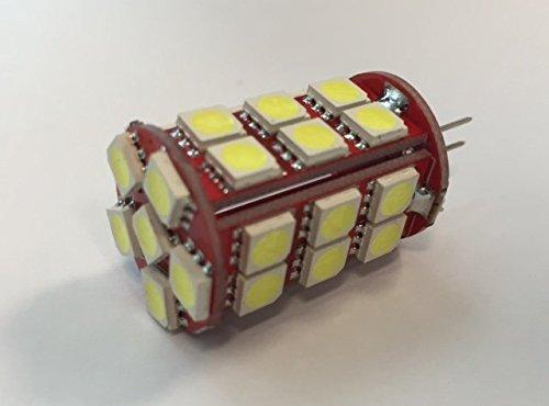EverBrightt 20-Pack BA9S blanc 5050 5SMD Led ampoule d/'/éclairage de plaque d/'immatriculation voiture remplacement feux porte feu 12V