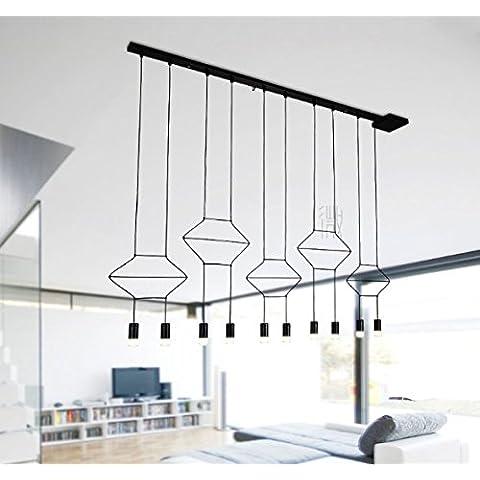 ZQ@QX Creativo semplice del decorazioni elegante illuminazione