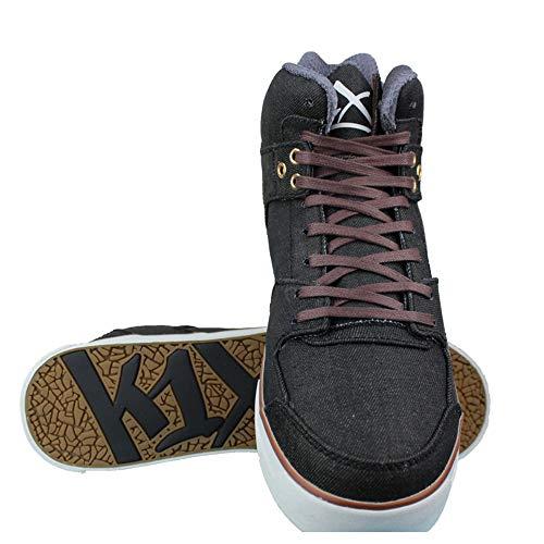 K1X Lazy high Vulc Brown/White/Denim, Größe:41 EU