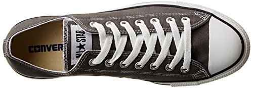 Converse All Star Chuck Taylor Ox, Baskets Unisexe - Adulto Charcoal