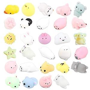 29 Piezas Mochi Squishy Toys,