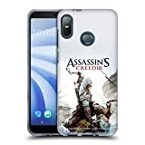 Head Case Designs Ufficiale Assassin's Creed Connor Ascia III Arte Chiave Cover Morbida in Gel per HTC U12 Life (2018)