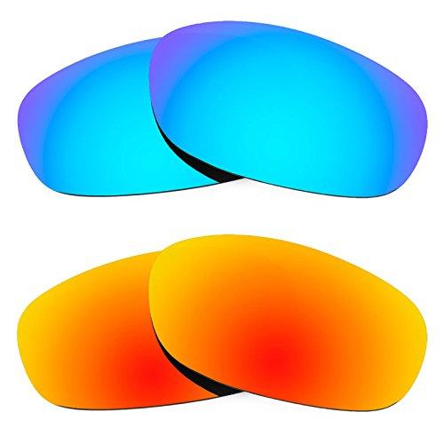 Revant Ersatzlinsen für Ray Ban Predator 2 RB2027 Polarisiert 2 Paar Kombipack K002