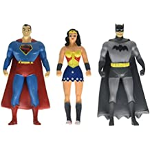 NJ Croce Justice League Action Figure Mini Set (3 Piece)
