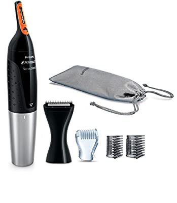 Philips NT5175/49 Norelco Nose trimmer 5100 Facial Hair Precision Trimmer for Men