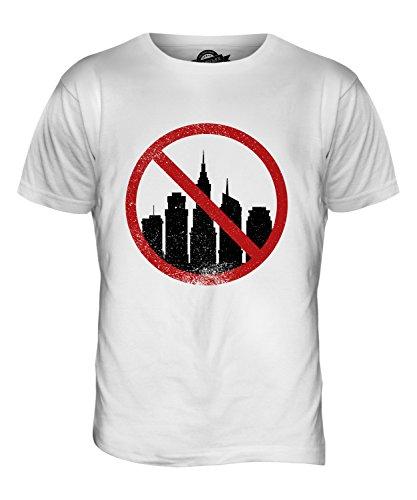 CandyMix Acrofobia T-Shirt da Uomo Maglietta Bianco