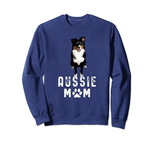 Australian Shepherd Hunde Mama Geschenk Aussie Mom Sweatshirt Australian Shepherd Sweatshirt